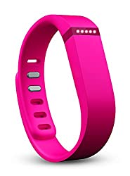 Fitbit Flex Wireless Activity Tracker and Sleep Wristband (Pink)