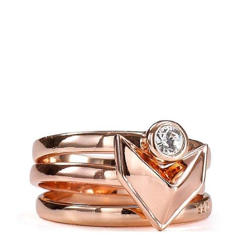 Rebecca Minkoff Heart Stack Ring – jewelry