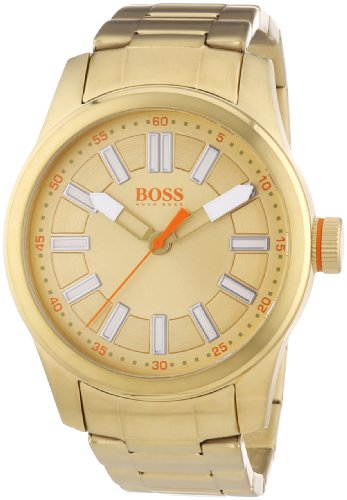 BOSS Orange XL Paris Women's Quartz Watch with White Dial Analogue Display and Silver Stainless Steel Plated 1512992