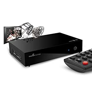 Energy Sistem TV Player 150 - Reproductor AV digital, disco duro 0 GB