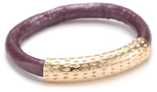 by boe Lilac Leather Ring, Size 7.5