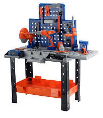 Home Depot Step Stool Workbench Toy