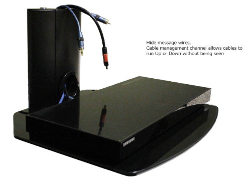 Audio Video Component Wall Mount Floating Shelf