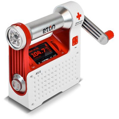 Eton Arcpt300w American Red Cross Axis Self-powered Safety Hub With Weather Radio And Usb Cell Phone Charger from Grundig