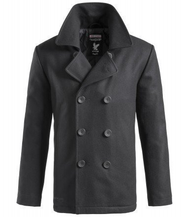 Surplus Pea Coat nero Taglia M