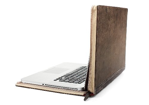Twelve South (12-1003) BookBook Hardback Leather Case for Macbook 15&#8243; PRO SD &#8211; Black