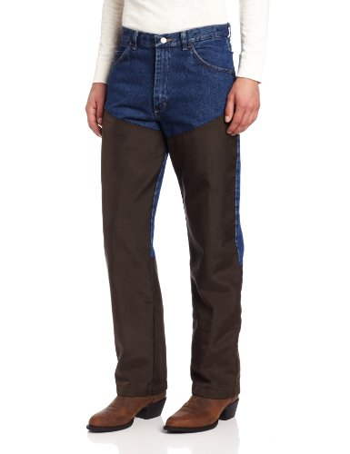 Wrangler Men's Progear Upland Jean, Antique Navy,  36W x 34L (Briar Proof Pants compare prices)