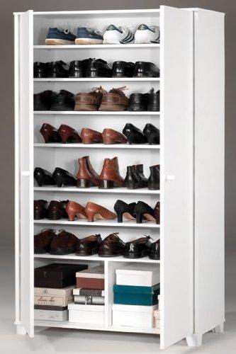 Shiito funcional armario zapatero multiusos color - Zapatero para armario ...