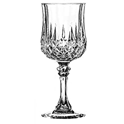 Cristal dArques Longchamp Red Wine Goblet, 250ml, Set of 6