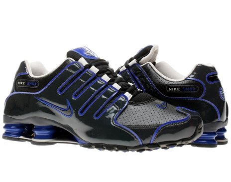 d09711572944 Feature of Nike Men s NIKE SHOX NZ RUNNING SHOES 9 Men US BLACK BLACK  ANTHRACITE HYPR BL
