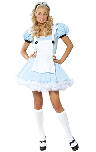 Flirty Alice in Wonderland Halloween Costume