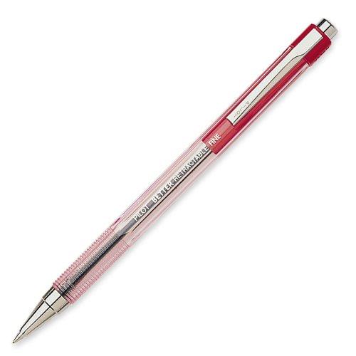 pilot-the-better-retractable-ballpoint-pens-fine-point-red-ink-dozen-box-30002