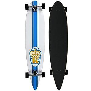 """Krown Maple 9"""" x 43"""" Pintail Longboard Skateboard from Krown"""