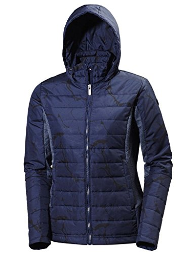 Helly Hansen 2016 Women's Astra Hooded Jacket - 54435 (Evening Blue - M)