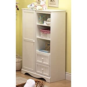 Savannah Door Chest Pure White from South Shore