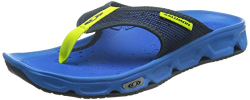 Salomon RX Break, Sandali da Atletica Uomo, Blu (Bright Blue/Union Blue/Gecko Green), 44 EU