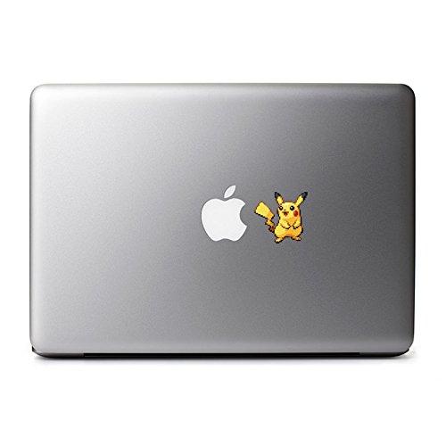 8-Bit Pikachu Decal for MacBook, iPad Mini, iPhone 5S, Samsung Galaxy S3 S4, Nexus, HTC One, Nokia Lumia, Blackberry