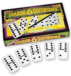 Premium Edition Tournament Size Color Dominoes