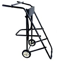 TMS T-OMC-130 Outboard Boat Motor Stand Carrier Cart Dolly, 130-Pound