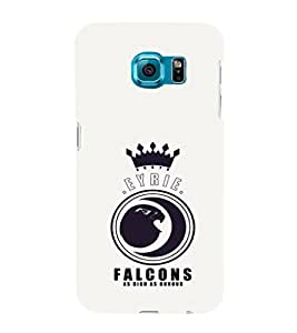 EPICCASE EYRIE Falcons Mobile Back Case Cover For Samsung Galaxy S6 Edge Plus (Designer Case)