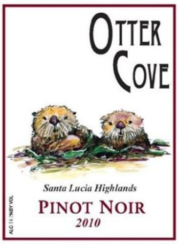 2010 Otter Cove Wines Monterey County Santa Lucia Highlands Tondre Grapefields Pinot Noir 750 Ml