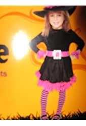 Girls' Witch Costume (Small)