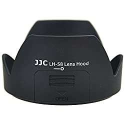JJC LH-58 Petal Lens Hood Shade With Side Window for ND CPL Rotating Filters For Nikon AF-S DX NIKKOR 18-300mm f/3.5-5.6G ED VR Replaces HB-58