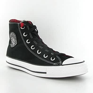 Converse ct all star ramones hi black white mens trainers for Converse all star amazon