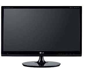 LG DM2780D-PZ 27 Inch Cinema 3D LED 1920 x 1080 Resolution 7,000,000:1 TV Monitor with Built-in 5W Speakers x 2