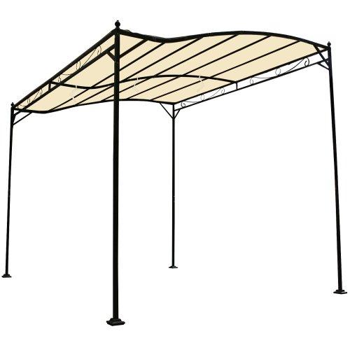 garten pavillon partyzelt aus stahl wasserabweisend. Black Bedroom Furniture Sets. Home Design Ideas