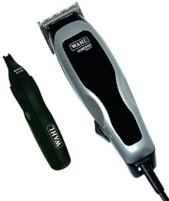 Wahl 9159-058 HomePro Combo 17 Piece Men's Hair Clipper & Personal Trimmer Set, 220 Volts (Not for USA)