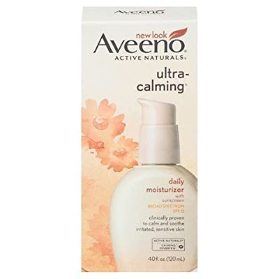 Aveeno Ultra-Calming Daily Moisturizer with Broad Spectrum SPF 15- 4 Fl. Oz. TRG