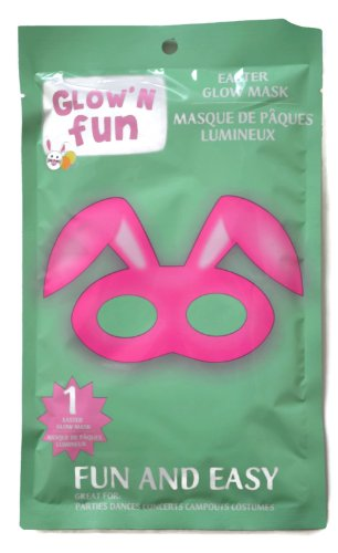 Glow'n Fun Easter Bunny Mask (2 Pack)