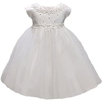 ff4118cc5 KID Collection Baby-Girls New Baby Princess Tulle Flower Girl Dress