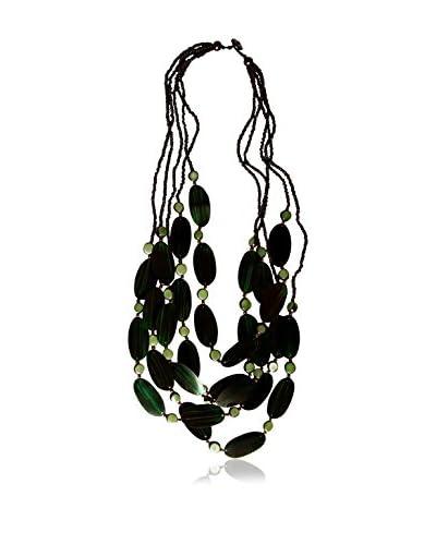 Alibey Accesorios Collar  Verde