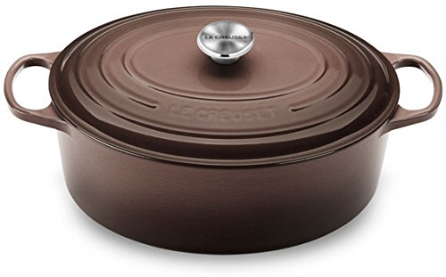 Le Creuset Signature Oval French Oven, Truffle - Truffle (Small Oval Dutch Oven compare prices)