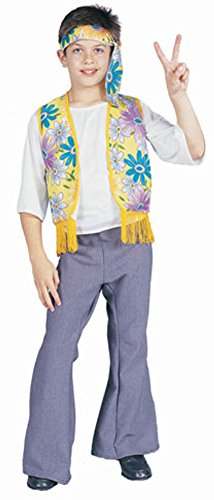 Child's Boy's Hippie Costume (Size:Small 4-6)