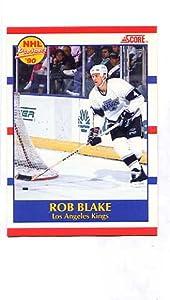 1990-91 Score #421 Rob Blake (Hockey Cards)