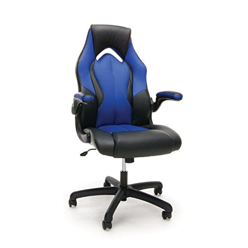 essentials-racing-style-leather-gaming-chair-ergonomic-swivel-computer-office-or-gaming-chair-blue-e