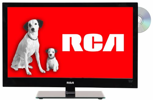 RCA LED24C45RQD 24-Inch LED/DVD Combo Full HD 1080p 60Hz HDTV (Black)