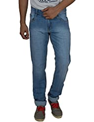 Studio Nexx Men's Light Blue Slim Fit Jeans