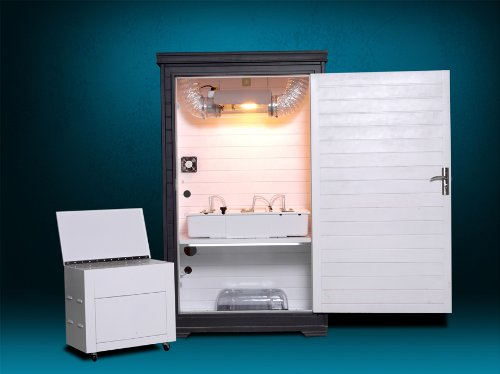 Hydroponic Grow Box - Bud Buddy With 400-Watt Mh, Hps And Cool Tube