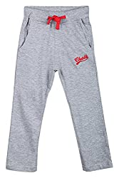 Chalk by Pantaloons Boy's Regular Fit Track Pant(205000005608263, Grey, 3-4 Years)