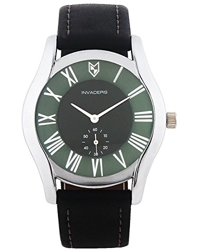 Swatch Invaders Authority Green Dial Analogue Men's Watch INV-AHTY-GRN-67004