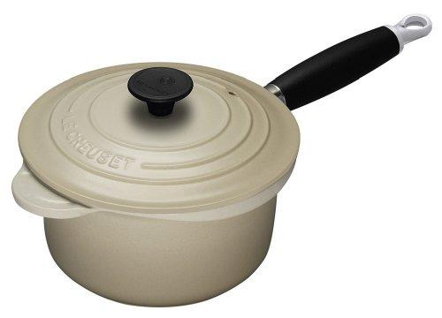 Le Creuset Cast Iron Saucepan, Almond, 20 cm