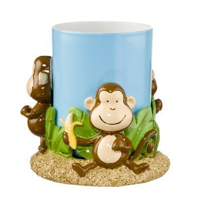 Monkey Bathroom Tumbler