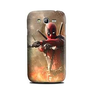 Samsung Galaxy Grand DUOS Designer Printed Case & Covers (Samsung Galaxy Grand DUOS Back Cover) - Superhero Deadpool