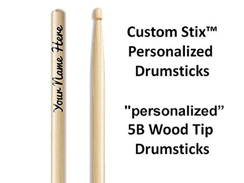 Personalized Drumsticks (1 Pair with Each Order) Personalized custom drumsticks (Custom Stix compare prices)