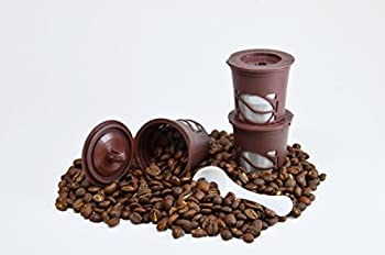 3Pk. Reusable Coffee Pods with Spoons