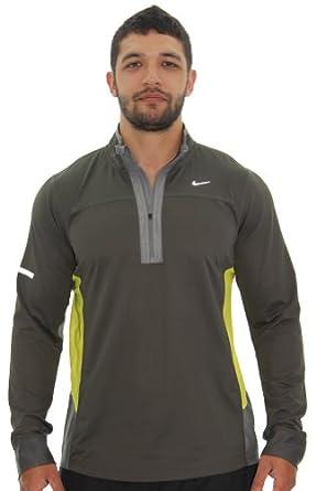 Nike Running Mens Technical 1 2 Zip Shirt Top by Nike